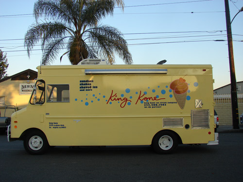 Ice Cream Food Truck King Kone